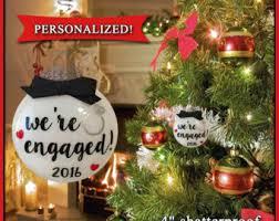 engagement ornament engagement gift ornament