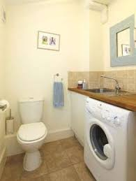 Bathroom Laundry Ideas Combined Bathroom Laundry Move W D Against End Wall Add Shelf