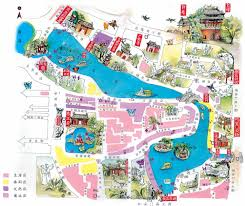 Beijing China Map by The Map Of Travel In Beijing S Hou Hai Of China From Hobobe Com