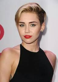 miley cyrus type haircuts miley cyrus straight light brown side part undercut hairstyle
