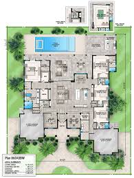 florida house plan with options 86043bw architectural designs