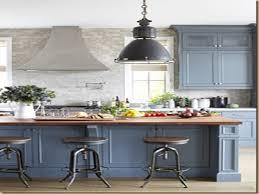 Cobalt Blue Kitchen Cabinets Light Blue Grey Kitchen Cabinets Kitchen Lighting Ideas