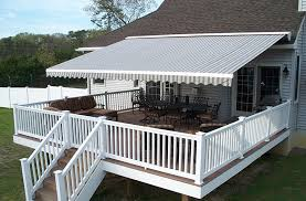 Awnings For Decks Ideas Retractable Awnings Deck Retractable Awnings Installation Tips