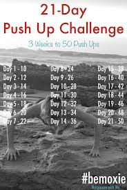 Challenge How Do You Do It 21 Day Push Up Challenge Morganize With Me Tyree