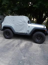 jeep renegade charcoal bestop 81040 09 all weather trail cover in charcoal for 07 17