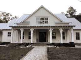 Modern Farm Homes Big New White Farmhouse Beautiful Curb Appeal Pinterest