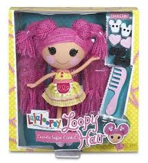 lalaloopsy loopy hair lalaloopsy loopy hair crumbs sugar cookie doll set sew magical