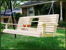 decor simple front porch swings lowes plans wood material for