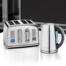 Silver Toaster And Kettle Set Cuisinart 1 7l Multi Temp Jug Kettle Polished Stainless Steel