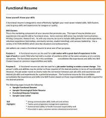 12 functional resume examples cote divoire tennis