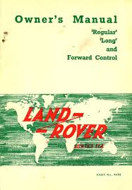 series iia owners manual land rover technical blog
