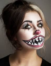 Halloween Costumes Women Scary 25 Clown Makeup Ideas Harlequin Makeup