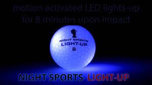 light up golf balls night sports usa light up golf ball the ultimate golf gift stocking