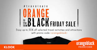 black friday travel klook black friday sale up to 50 off hk sg u0026 korea attraction