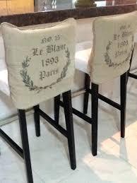Chair Back Cover Bar Stool Slipcover Detailing Bar Stool Slipcovers Bar Stool