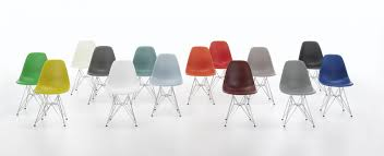 eames plastic side chair dsr vitra