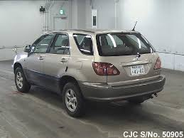 1999 toyota harrier gold for sale stock no 50905 japanese