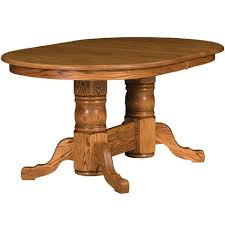 Pedestal Dining Table With Butterfly Leaf Extension Tables For 14 Or More Amish Extension Dining Tables U2013 Amish Tables