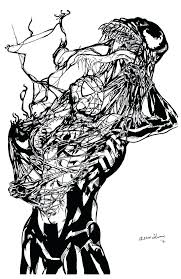 venom spiderman coloring pages print 3 free carnage venom