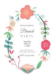 lunch invitation free brunch lunch party invitation templates greetings island