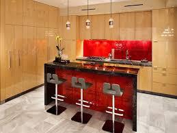 kitchen kitchen cool red grey modern kitchen decoration by red