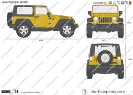 Online Blueprints by The Blueprints Com Vector Requests Jeep Wrangler Rubicon 2007