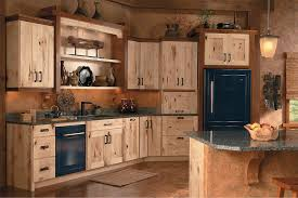brown kitchen cabinets lowes schuler cabinetry rustic kitchen seattle by lowe s