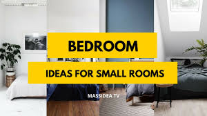 Small Bedroom Ideas With Tv 50 Awesome Bedroom Ideas For Small Rooms 2017 Youtube