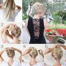 chignon mariage facile a faire coiffure de gala facile a faire coiffure classe et simple jeux