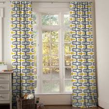 home decoration ideas yellow and grey bedroom curtains drapes