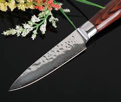 forged japanese kitchen knives sharp 3 5 damascus kitchen knife handmade hammer forged damascus