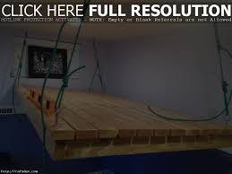 suspended bed terrific hanging bed plans painting in backyard decor is like