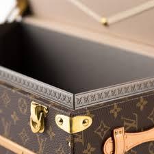 louis vuitton monogram flower trunk vintage luggage company