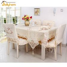 Coffee Table Cover Modern Craft Tablecloth Hollow Out Embroidery And Handmade Cutwork