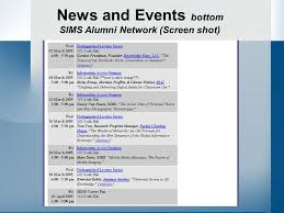 alumni network software sims alumni network keeping us connected goals accomplish its