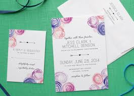 watercolor wedding invitations watercolor wedding invitations from day press