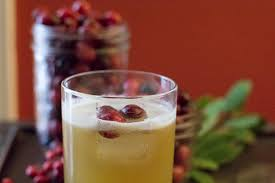festive cocktail recipe with rye pear juice keeprecipes your