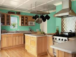 kitchen with stainless steel backsplash interior popular colors for kitchens with blue kitchen