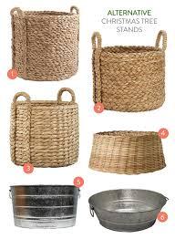 tree baskets alternative tree stands