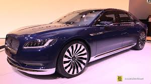 Lincoln Continental Price Lincoln Continental Concept Exterior And Interior Walkaround