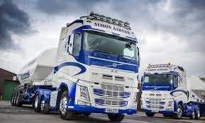 volvo trucks jobs simon gibson transport u0027bulk up u0027 with more new volvo fh tractor