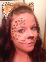 Halloween Cheetah Costume Minute Leopard Makeup Easy Ardell Lashes