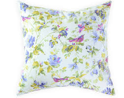 Shabby Chic Pillow Covers by Purple Floral Pillow Etsy