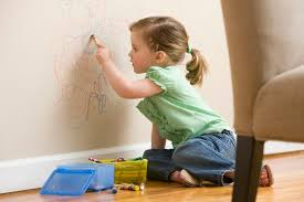 how to remove crayon marks from walls with vinegar