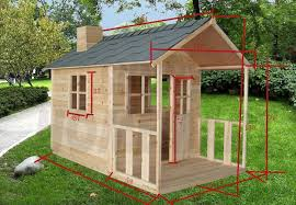 Wooden Backyard Playhouse White Angel Outdoor Playhouse Wooden Cubby House And Windows