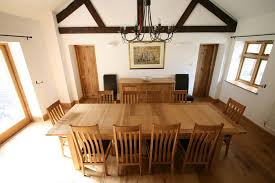 12 Seater Oak Dining Table Large Dining Table Seats 10 12 14 16 Big Tables Also
