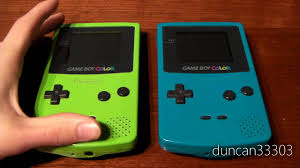 Game Boy Color Review Youtube Gameboy Color