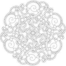coloring pages of mandala to print kids coloring