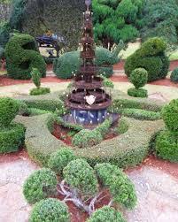 Topiary Outdoor Garden Topiary Garden Design Ideas Copper Fontainer For Garden