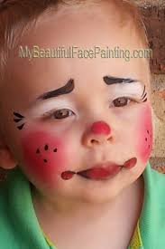 halloween baby face mask best 20 clown face paint ideas on pinterest scary clown makeup